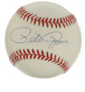 Autographs:Baseballs, Pete Rose Single Signed Baseball. Clean ONL (White ) single appearshere courtesy of baseball's Hit King Pete Rose. LOA f...