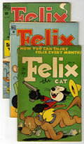Golden Age (1938-1955):Cartoon Character, Felix the Cat Group (Dell, 1947-52).... (Total: 5)