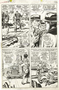 Original Comic Art:Panel Pages, Jack Kirby and Syd Shores - Captain America #109, page 12 OriginalArt (Marvel, 1969). ...