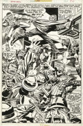 Original Comic Art:Panel Pages, Jack Kirby and Frank Giacoia - Captain America #198, page 26Original Art (Marvel, 1976). ...