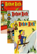 Silver Age (1956-1969):Humor, Richie Rich File Copies Group (Harvey, 1966-70) Condition: Average VF/NM.... (Total: 52 Comic Books)