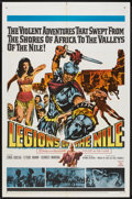 """Movie Posters:Adventure, Legions of the Nile (20th Century Fox, 1960). One Sheet (27"""" X41""""). Adventure.. ..."""