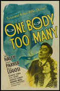 "Movie Posters:Comedy, One Body Too Many (Paramount, 1944). One Sheet (27"" X 41""). Comedy.. ..."