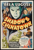 "Movie Posters:Serial, Shadow of Chinatown (Victory, 1936). One Sheet (27.5"" X 41"").Serial.. ..."