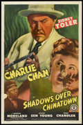 "Movie Posters:Mystery, Shadows over Chinatown (Monogram, 1946). One Sheet (27"" X 41""). Mystery.. ..."