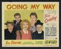 "Movie Posters:Drama, Going My Way (Paramount, 1944). Lobby Card Set of 8 (11"" X 14""). Drama.. ... (Total: 8 Items)"