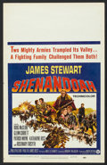 "Movie Posters:Western, Shenandoah (Universal, 1965). Window Card (14"" X 22""). Western.. ..."