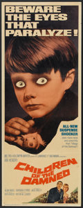 """Movie Posters:Science Fiction, Children of the Damned (MGM, 1964). Insert (14"""" X 36""""). Science Fiction.. ..."""