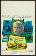 """Movie Posters:Science Fiction, Village of the Damned (MGM, 1960). Window Card (14"""" X 22""""). Science Fiction.. ..."""