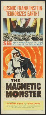 """The Magnetic Monster (United Artists, 1953). Insert (14"""" X 36""""). Science Fiction"""