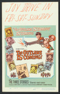"""Movie Posters:Comedy, The Outlaws is Coming (Columbia, 1965). Window Card (14"""" X 22""""). Comedy.. ..."""