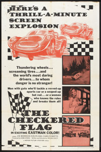 """The Checkered Flag (Motion Picture Investors, 1963). One Sheet (27"""" X 41""""). Sports"""