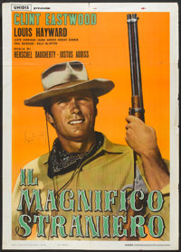 "The Magnificent Stranger (Unidis, 1966). Italian 2 - Folio (39"" X 55""). Western"