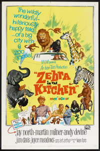 "Zebra in the Kitchen Lot (MGM, 1965). One Sheets (2) (27"" X 41""). Comedy. ... (Total: 2 Items)"