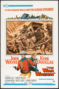 "Movie Posters:Western, The War Wagon (Universal, 1967). One Sheet (27"" X 41"") and Pressbook (Multiple Pages, 8.75"" X 13.75"") . Western.. ... (Total: 2 Items)"
