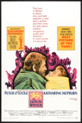"Movie Posters:Historical Drama, The Lion in Winter (Avco-Embassy, 1969). One Sheet (27"" X 41"")Academy Award Style, Lobby Card (11"" X 14""), and Program (Mul...(Total: 3 Items)"