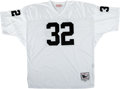 Football Collectibles:Uniforms, Marcus Allen Signed Jersey. ...