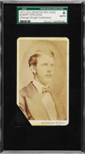 Baseball Cards:Singles (Pre-1930), Important 1872 Boston Red Stockings CDV Albert Spalding SGCAuthentic - From the George Wright Collection. ...