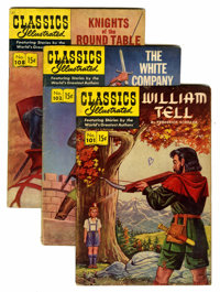 Classics Illustrated Group with Original Binder (Gilberton, 1952-56) Condition: Average VG unless noted.... (Total: 11 C...