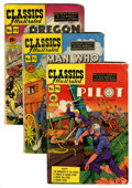 Golden Age (1938-1955):Classics Illustrated, Classics Illustrated Group with Original Binder (Gilberton,1950-53).... (Total: 17 Comic Books)