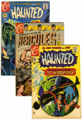 Bronze Age (1970-1979):Horror, Haunted and Hercules Group (Charlton, 1967-74) Condition: AverageVF/NM.... (Total: 12 Comic Books)