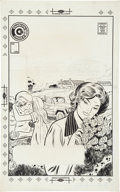 Original Comic Art:Covers, Art Cappello Romance Cover Original Art (Charlton, undated)....