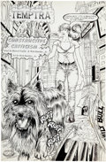 Original Comic Art:Splash Pages, Rick Buckler Jr. Vixen #9 Splash page 16 Original Art(Samson, 1996)....