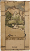 Books:Children's Books, Jessie M. King. The City of the West. London and Edinburgh:T. N. Foulis, 1911. First edition. Octavo. Illustrat...