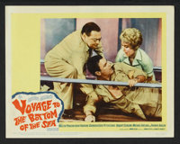 "Voyage to the Bottom of the Sea (20th Century Fox, 1961). Lobby Card Set of 8 (11"" X 14""). Adventure. ... (Tot..."