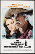 "Movie Posters:Western, Monte Walsh (National General, 1970). One Sheet (27"" X 41""). Western.. ..."