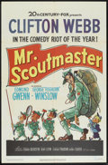 """Movie Posters:Comedy, Mr. Scoutmaster (20th Century Fox, 1953). One Sheet (27"""" X 41""""). Comedy.. ..."""
