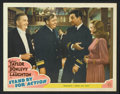 "Movie Posters:War, Stand By For Action (MGM, 1943). Lobby Cards (7) (11"" X 14""). War..... (Total: 7 Items)"