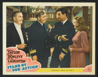 """Stand By For Action (MGM, 1943). Lobby Cards (7) (11"""" X 14""""). War. ... (Total: 7 Items)"""