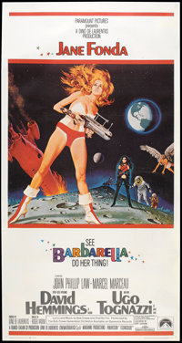 "Barbarella (Paramount, 1968). Three Sheet (41"" X 81""). Science Fiction"
