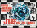 "Movie Posters:Comedy, The Thief Who Came to Dinner (Warner Brothers, 1973). British Quad (30"" X 40""). Comedy.. ..."