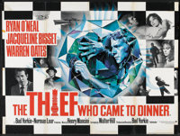 "The Thief Who Came to Dinner (Warner Brothers, 1973). British Quad (30"" X 40""). Comedy"
