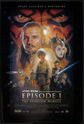 """Movie Posters:Science Fiction, Star Wars: Episode I - The Phantom Menace (20th Century Fox, 1999). One Sheet (27"""" X 40"""") DS Style B. Science Fiction.. ..."""