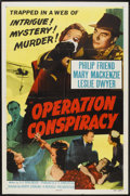 "Movie Posters:Mystery, Operation Conspiracy (Republic, 1957). One Sheet (27"" X 41""). Mystery.. ..."