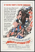 "Movie Posters:Comedy, Wild in the Streets (American International, 1968). One Sheet (27"" X 41""). Comedy.. ..."