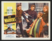 "The Warriors (Allied Artists, 1955). Lobby Cards (4) (11"" X 14""). Adventure. ... (Total: 4 Items)"