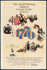 """1776 (Columbia, 1972). One Sheet (27"""" X 41"""") and Lobby Cards (6) (11"""" X 14""""). Musical. ... (Total: 7..."""