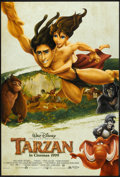 "Movie Posters:Animated, Tarzan (Buena Vista, 1999). One Sheet (27"" X 40"") DS Advance.Animated.. ..."