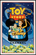 "Movie Posters:Animated, Toy Story (Buena Vista, 1995). TV Station Poster (27"" X 41"") SS.Animated.. ..."