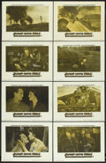 "Movie Posters:War, Jump into Hell (Warner Brothers, 1955). Lobby Card Set of 8 (11"" X14""). War.. ... (Total: 8 Items)"