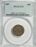 Early Dimes, 1807 10C Fine 12 PCGS....