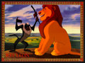 """Movie Posters:Animated, The Lion King (Buena Vista, 1994). Spanish Language Lobby Card Set of 8 (9.75"""" X 13.25""""). Animated.. ... (Total: 8 Items)"""