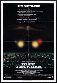 "Blue Thunder (Columbia, 1983). One Sheet (27"" X 41""). Action"
