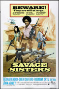 "Movie Posters:Bad Girl, Savage Sisters (American International, 1974). One Sheet (27"" X41"") Style B. Bad Girl.. ..."