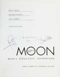 Autographs:Celebrities, Apollo 11 Crew-Signed Book: Moon, Man's Greatest Adventure(New York: Harry N. Abrams, Inc., 1970)....