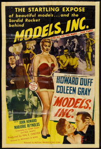 "Models, Inc. (Mutual Productions, 1952). One Sheet (27"" X 41""). Crime"